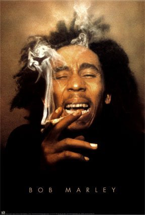Voir un profil - jeustice Bob-Marley---Ganja-Poster-C10292840